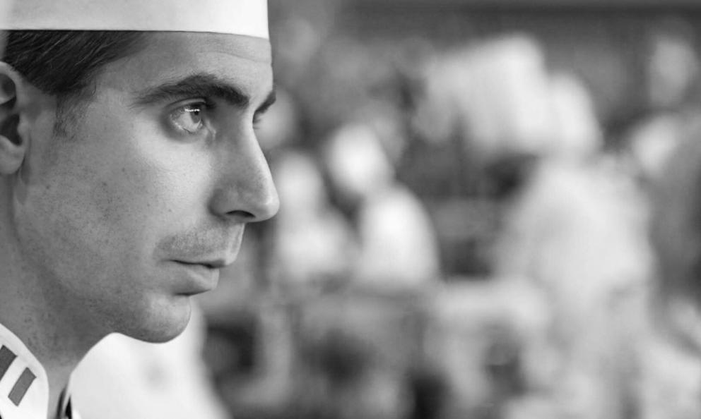 François Poulain, coach of the Italian team competing in the world finals of the Bocuse d'Or in Lyon, on the 29th and 30th of January