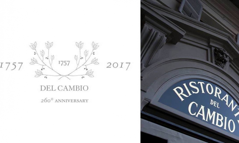 Del Cambioturns 260 and to celebrate Matteo Baronettocreated a special menu, which reinterprets historic dishes with contemporary sensitivity