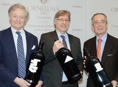 Left to right, Giovanni Geddes, Stephen Mould and Ferdinando Frescobaldi