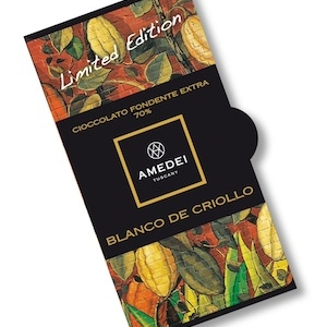 Blanco de Criollo, a 70% extra dark chocolate made with a blend of rare cacao varieties from Peru
