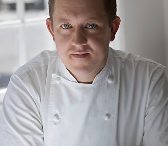 Ashley-Palmer Watts, chef at Dinner and historic right-arm of Heston Blumenthal (photo by Sergio Coimbra)