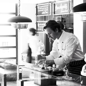The chef of Indochine at work