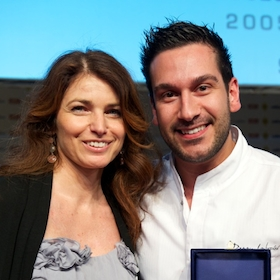Elisabetta Serraiotto and Denny Imbroisi