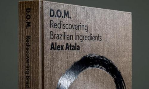 """D.O.M. Rediscovering Brazilian Ingredients"", the volume published by Phaidon and written by chef Alex Atala from São Paulo (available on Amazon), 65 recipes exploring the potential of Brazilian ingredients such as tapioca, pupunha, priprioca, tucupi..."