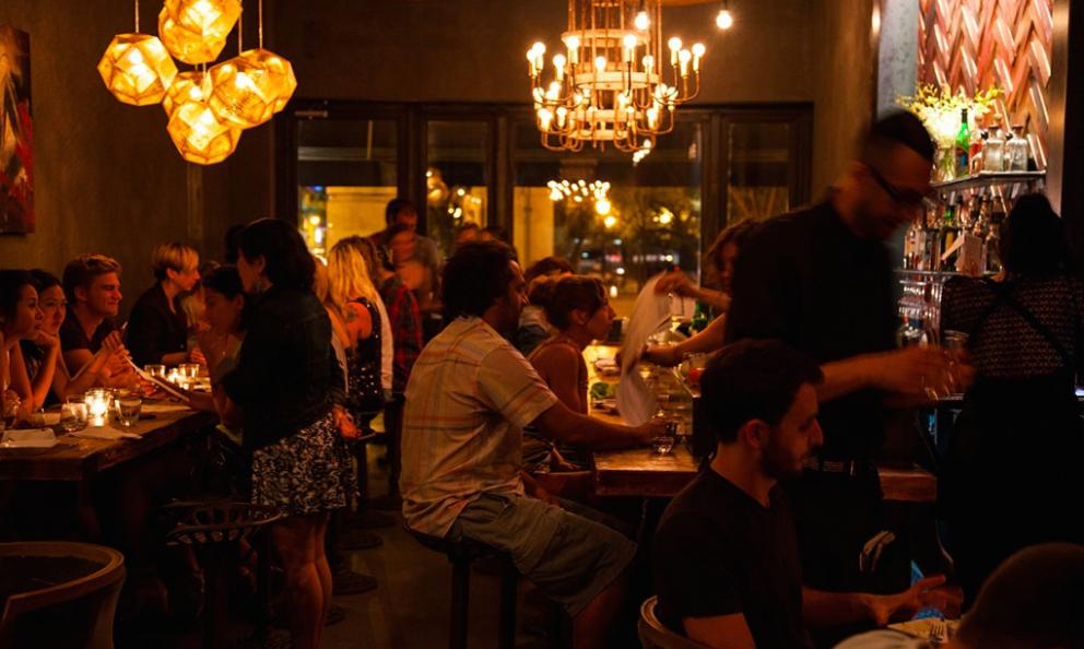 Xixa, Mexican cuisine in Brooklyn, fromJason Marcus(chef) andHeather Heuser(in the dining room). Photo fromxixany.com