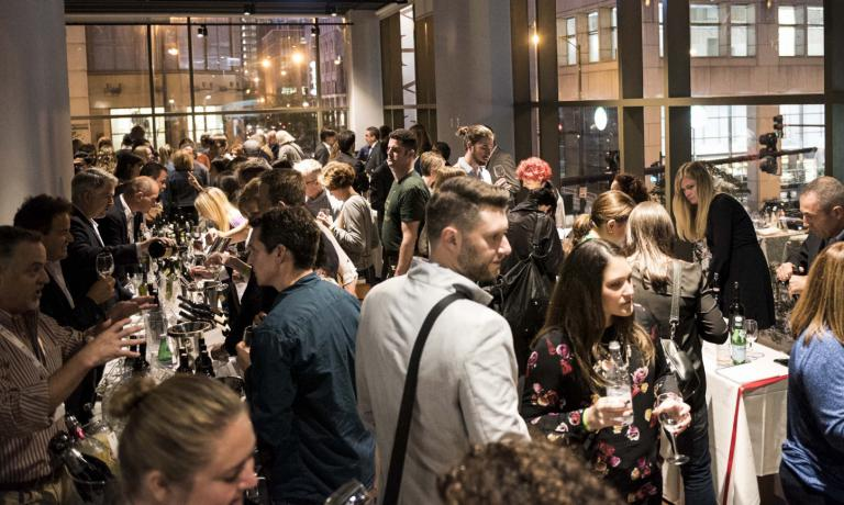 Wine around, the tasting of wines selected by the Merano Wine Festival, last Wednesday at Eataly Chicago, 38 producers from 14 different regions