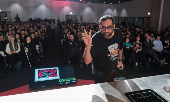 Gaggan Anand at Identità Milano 2018 (photo Brambilla-Serrani)