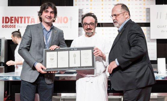 Luca Govoni, Paolo Lopriore, Paolo Marchi