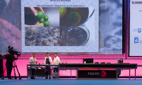 Xatruch and Castro on the stage of Gastronomika 2017