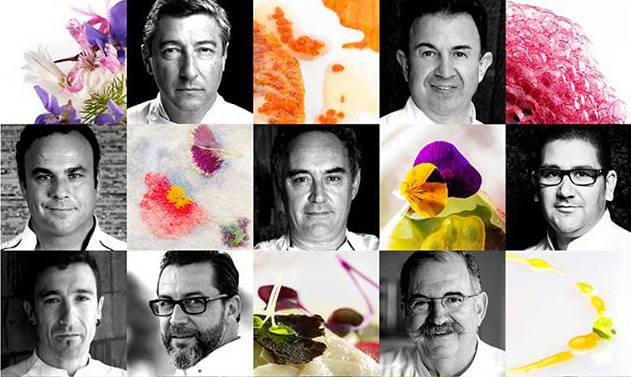 Some of the chefs appearing in Snacks, taken from the documentary's poster