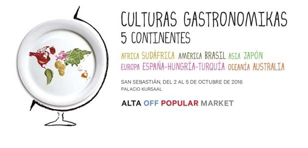 The image representing the programme of the new edition of Gastronomika: this year the Congress is well represented by a globe enclosed in a dish. The universal language of cooking will unite the 45 guest chefs during the 4-day event
