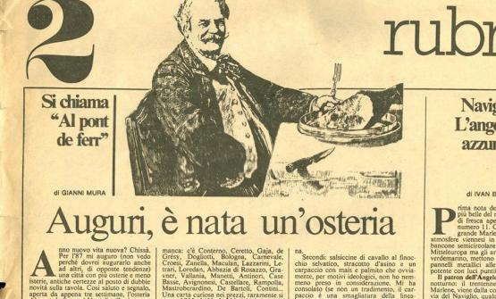 An article from 1987 by Gianni Mura for Repubblica presents the new born Pont de Ferr. The restaurant turned 30 last year