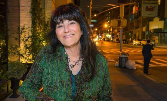 Ruth Reichl, 70, from New York, has been a food writer for Los Angeles Times (1984-1993) and New York Times (1993-1999). Photo from facebook