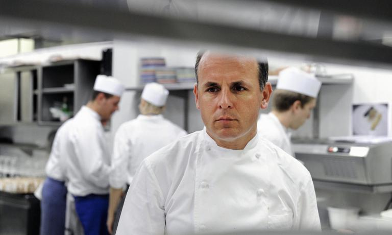 Alois Vanlangenaeker, born 1966, Belgian chef working at Zass and Il Carlino inside the San Pietro hotel in Positano (Salerno). Before the experience on the Amalfi Coast, the chef managed the kitchen at Don Alfonso in Sant'Agata sui Due Golfi for 8 years (1992-2000), earning his third star in 1997, later lost in 2001
