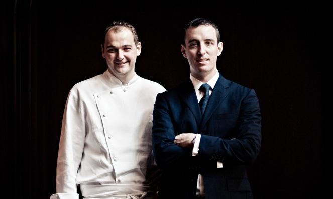 Daniel Humm (38) and Will Guidara (34), respectively chef and director at Eleven Madison Park in New York, 3 Michelin stars and 4 stars according to the New York Times. Their success, says Ryan King, is based on a very unique harmony between kitchen and dining room. The two of them will give a speech in Milan on Monday 9th February at 10.45 (photo credits thenomadhotel.com)