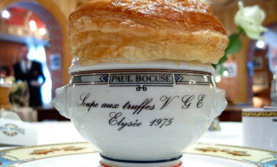 The famous Soupe aux truffes VGE