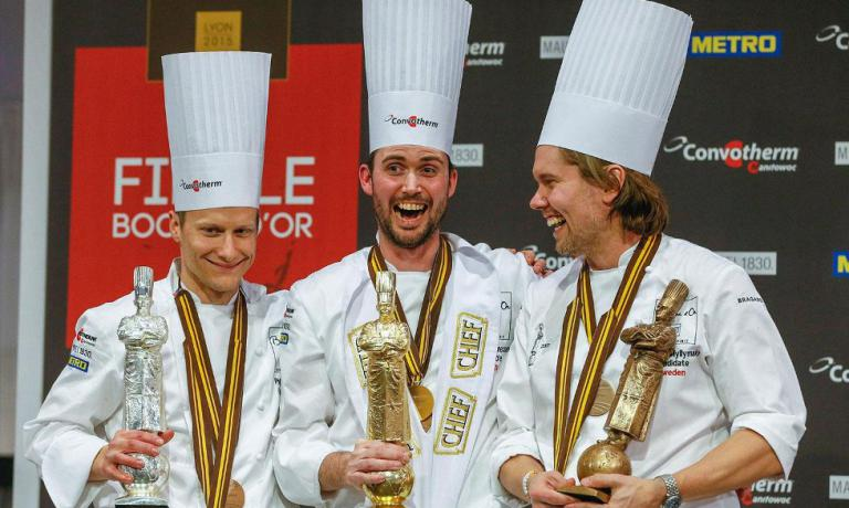 The podium of the latest world finals in 2015: Norway is first, then the US and then Sweden