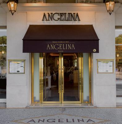 The entrance of Angelina, in 226 rue de Rivoli