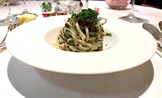 ... a dish ofSpaghetti alla Diego