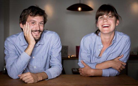 Hugo Hivernatand Sophie Cornibert, founders at Fulgurances(photolemonde.fr)