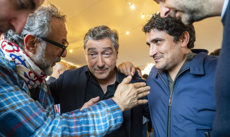 Three aces: Massimo Bottura, Joan Roca, Mauro Colagreco