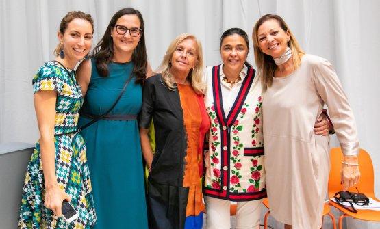 Elisa Pella, Giulia Corradetti, Alessandra Piazzoni, Paola Jovinelli, Cinzia Benzi, the project's pillars