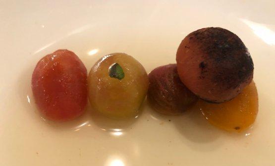 Tomates en salsa,Alija's now super famous dish