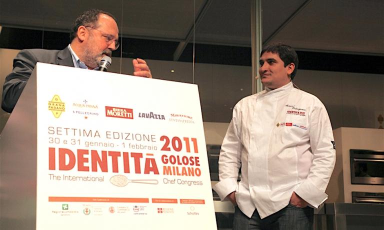 Old memories:ColagrecowithPaolo MarchiatIdentità Milano 2011
