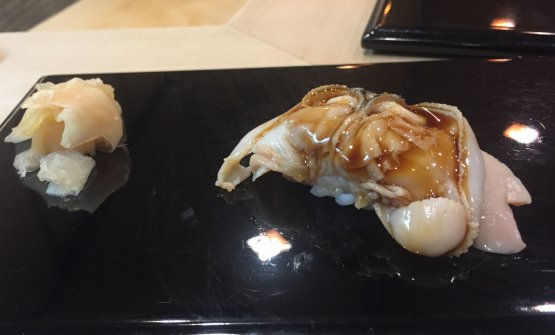 Clam shell (hamaguri)