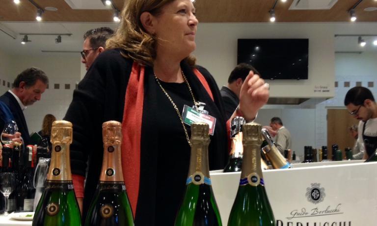 Cristina Ziliani, ambassador of Berlucchi and Franciacorta in the world