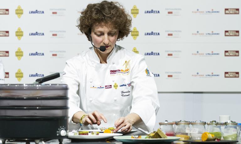 Vegan chef Daniela Cicioni will present two special recipes at Identità Milano