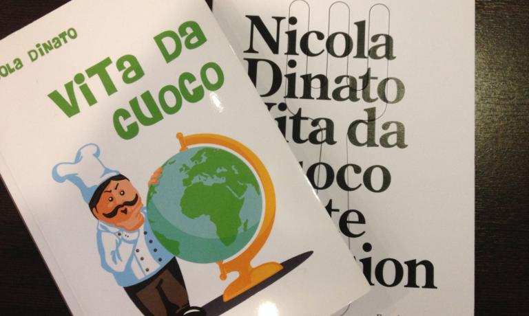 Dinato wrote an autobiographical novel, Vita da cuoco