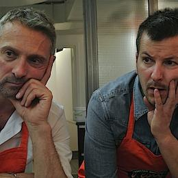 Alain Cirelli and Filippo Giarolo