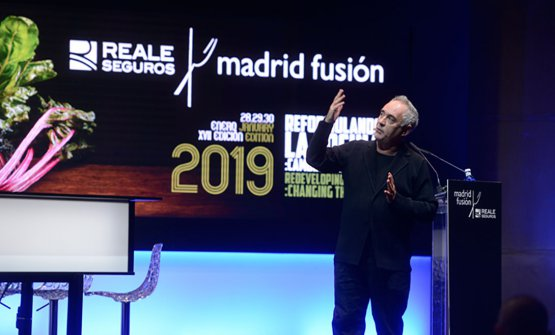 Ferran AdriàatMadrid Fusión