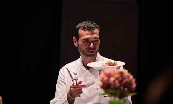 Apulian Andrea Camastra, 38, is the chef at restaurant Senses in Warsaw, one Michelin star (photo credits Senses)