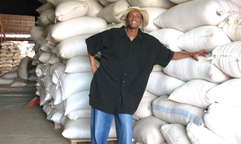 Arthur Karuletwa,Starbucks Director of Traceability