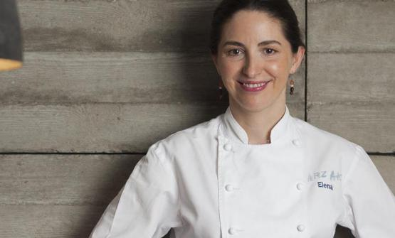 Basque Elena Arzak, born in 1969. On top of the restaurant named after her father, for a few years now she's also been directing the kitchen at Ametsa at the Halkin hotel in London (photo credits Coconut)