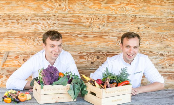 Twins Ivan and Sergey Berezutskiy from restaurant Twins in Moscow (photo Igor Rodin)