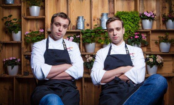 The twins at Identità Expo(photoVanya Berezkin)