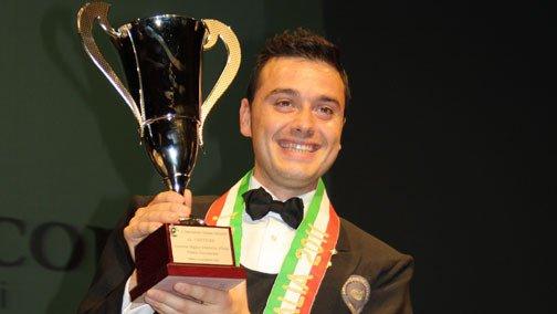 Gabriele Del Carlo eletto miglior Sommelier 2017 da Aspi