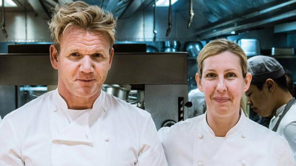 Clare Smyth with Gordon Ramsay: after many years of partnership (Smyth holds three stars, the first British woman to receive the acknowledgement, at Restaurant Gordon Ramsay in London), she announced Identità Golose, during the Mountain Gourmet Ski Experience in Courmayeur, that she's ready to leave the Scottish chef and open a restaurant of her own in London in the autumn
