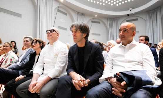 Alberto Santini, Paolo Brunelli, Davide Oldani andPino Cuttaia