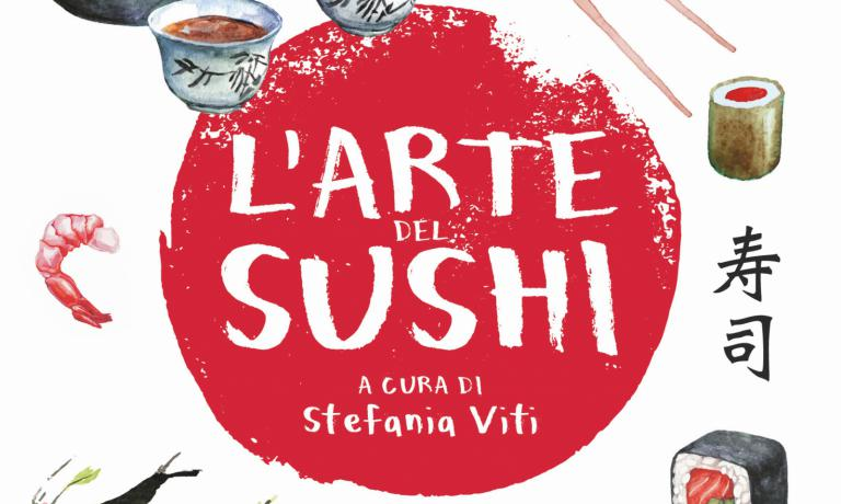 The cover of L'arte del sushi (Gribaudo)