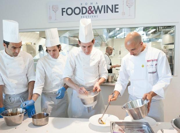 All is ready at Rome's Eataly for the Roma Food & Wine Festival, from Saturday November 29th till Monday December 1st. 18 great Italian chefs and their specialties, all to be tasted, will be the protagonists.