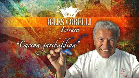 Igle Corelli, now a chef atAtmanrestaurant in Villa Rospigliosi,Lamporecchio (Pistoia), tel. +39.0573.1603051