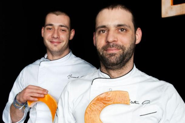 The Costardi brothers, Christian (right) and Manuel, will be among the many protagonists at Identit� Milano. They will face an unusual theme for them: pasta (photo credits Brambilla-Serrani)