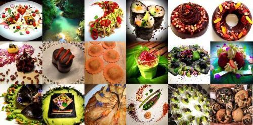 A collection of recipes from Daniela Cicioni's website. She's a freelance vegan chef, focusing on raw and macrobiotic food. She follows the creed of Albert Einstein: Creativity is intelligence having fun