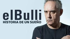 """The poster from """"elBulli, the story of a dream"""", a documentary series available from Amazon Primeas of July 2nd. The 12 episodes were filmed over 13 years, a not to be missed chance to retrace the history of the most influential restaurant in the past 30 years"""