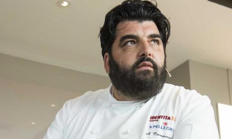 Cannavacciuolois the chef of the year according to the 2013 Guida di Identità Golose (photo by Brambilla/Serrani)