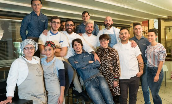 The team at La Cascina dei Sapori